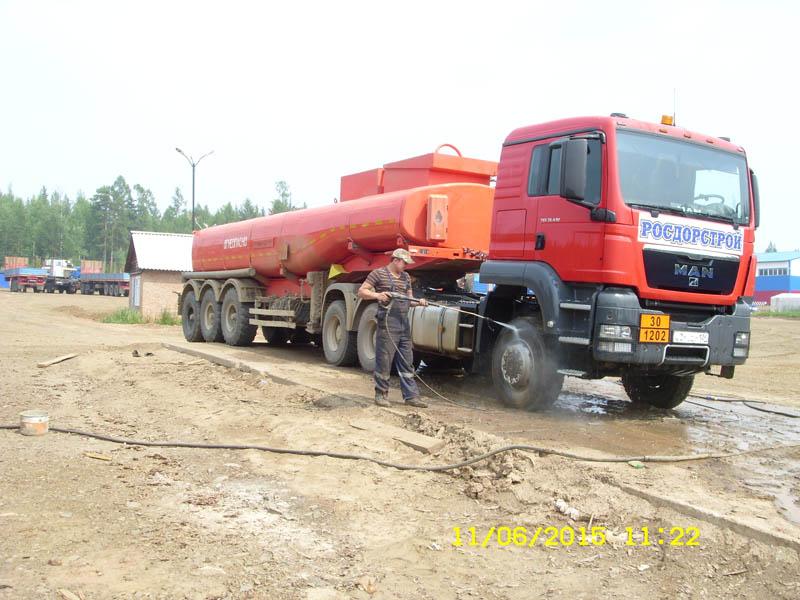 мойка грузовых машин на базе росдорстрой в богучанах